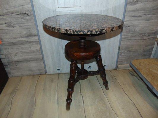 Adjule Marble Top Coffee Table