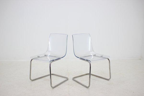 Ikea Sedie In Plastica.Sedie Da Pranzo Di Ikea Anni 90 Set Di 4 In Vendita Su Pamono