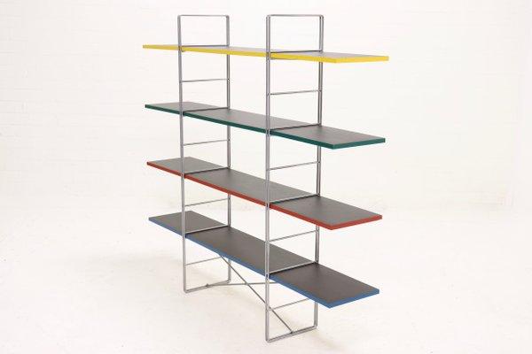 Estantería independiente de Niels Gammelgaard para Ikea, años 80