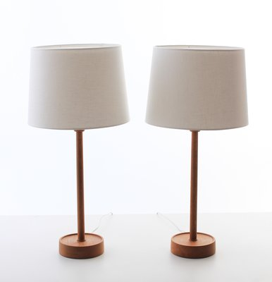 Scandinavian Table Lamps By Uno Östen