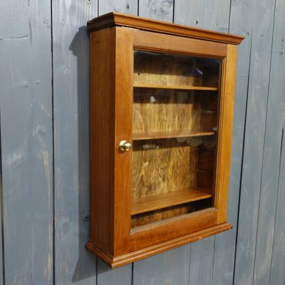 Gl Fronted Post Office Wall Cabinet