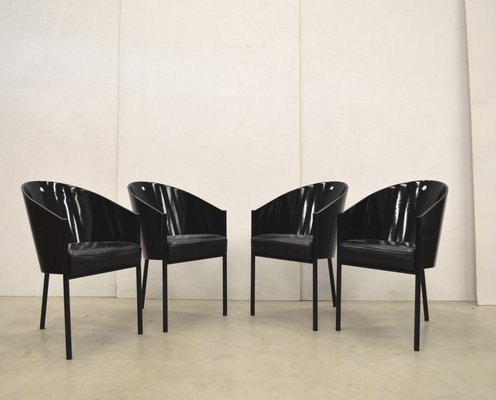 Living Room Bedroom Combo Ideas, Model Costes Dining Chairs By Philippe Starck For Driade 1990s Set Of 4 1500