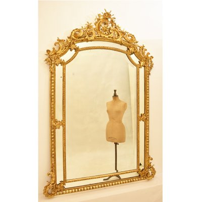 Antique Gilded Rectangular Beveled