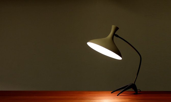 German Crowfoot Table Lamp from Cosack, 1950s for sale at Pamono