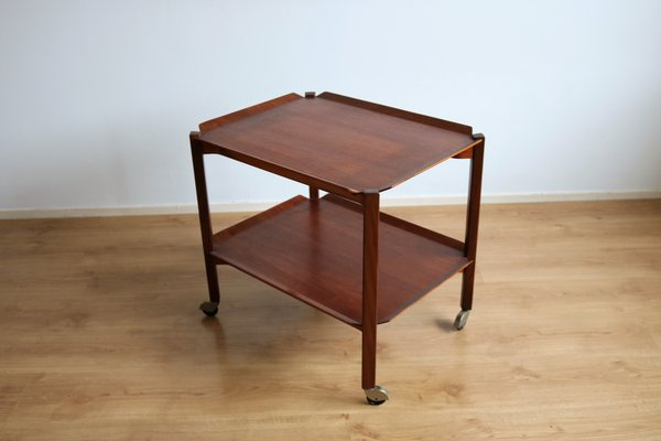Teak Serving Trolley 1960s For At