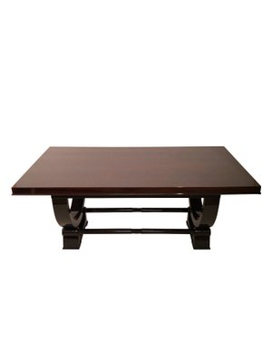 Art Deco French Extendable Dining Table 1930s For Sale At Pamono
