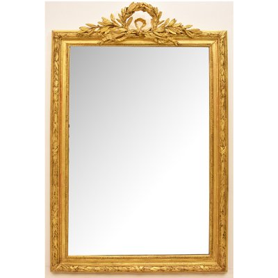 Antique Gold Leaf Frame Mirror For Sale At Pamono