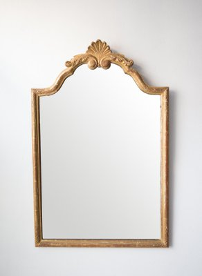 Antique French Gold Mirror For Sale At Pamono