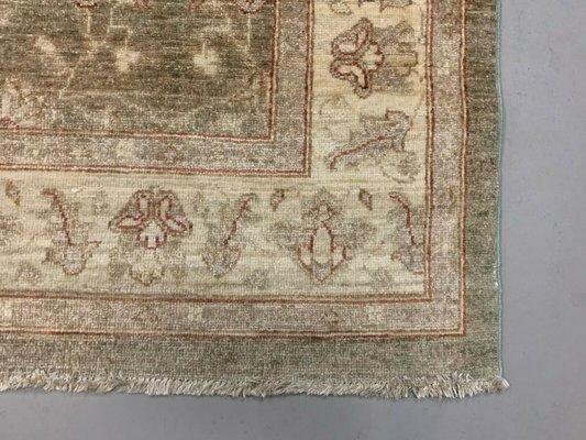 Mid Century Afghan Wool Ziegler Rug For
