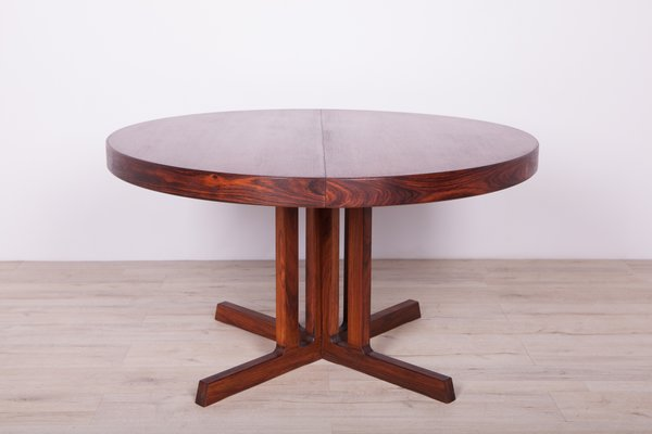Rosewood Extendable Dining Table 1960s