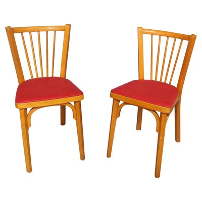 French Bistro Dining Chairs By Baumann