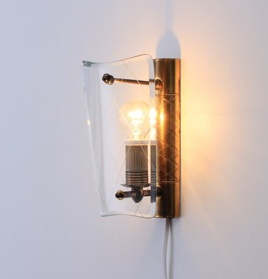 Italian Modern Wall Lights 1950s Set Of 2 For Sale At Pamono