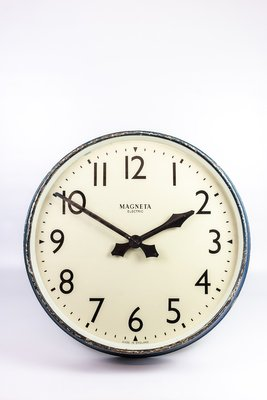 Railway Clock From Magneta 1940s