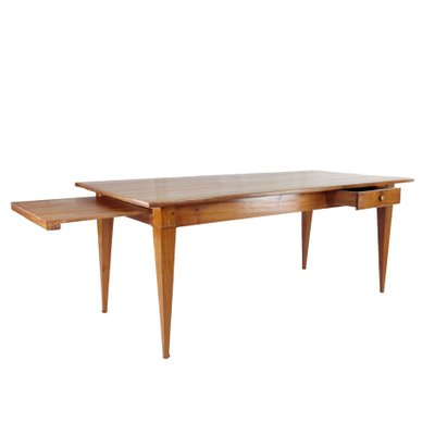 French Cherrywood Country House Dining Table For Sale At Pamono