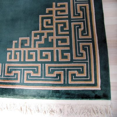 Large Chinese Art Deco Style Decorated Carpet 1980s For Sale At Pamono