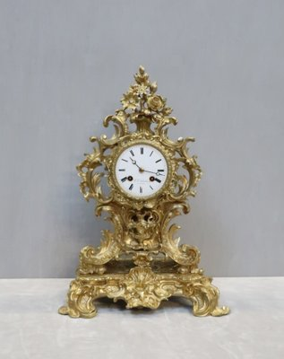 Antique Rococo Style French Gilt Bronze