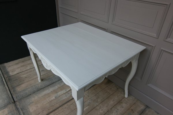 Vintage French White Dining Table Bei Pamono Kaufen