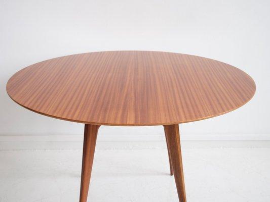 Italian Modern Round Wooden Dining