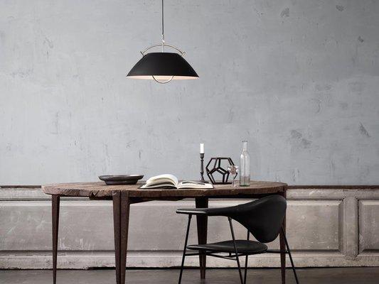Mid Century Scandinavian White L037 Pendant Lamp By Hans J Wegner For Pandul For Sale At Pamono
