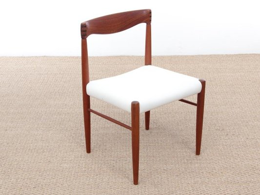 Mid Century Scandinavian Teak Dining Chairs By H W Klein For Bramin Set Of 4 For Sale At Pamono