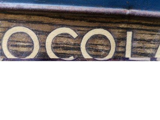 RETRO METAL PLAQUE CHOCOLAE FEAST sign//ad