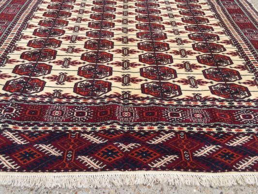 Handmade Wool Bokhara Turkmen Rug