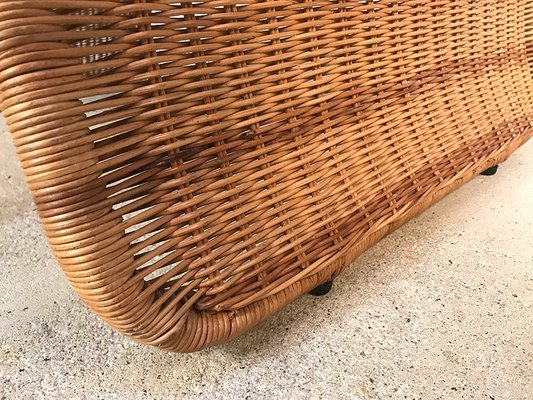 Vintage Rattan Lounge Chairs From Ikea