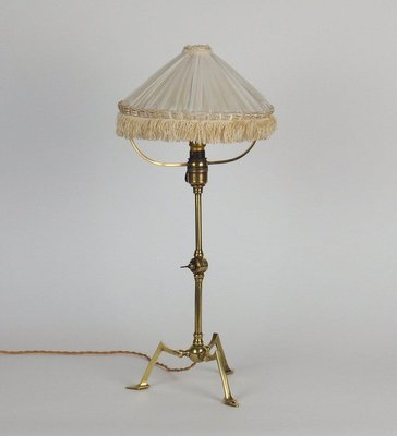 Vintage Arts Crafts Brass Table Lamp By Was Benson For Sale At Pamono