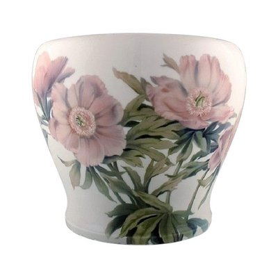 Antique Colossal Planter Or Flower Pot In Porcelain From Bing Grøndahl For Sale At Pamono