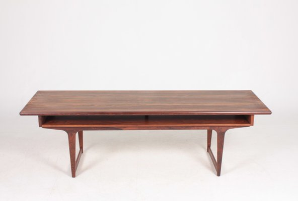 Mid Century Danish Rosewood Coffee Table 1960s Bei Pamono Kaufen