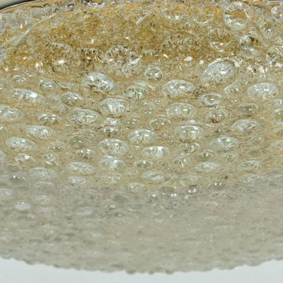 Large Thick Massive Bubble Glass Flush Mount Or Wall Lights By Hillebrand 1969 Set Of 2 For Sale At Pamono