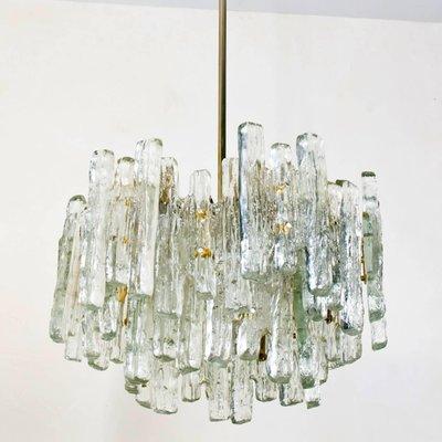 Ice Gl Chandelier By Kalmar Lighting