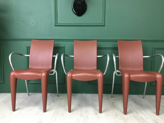 Living Room Bedroom Combo Ideas, Vintage Louis 20 Dining Chairs By Philippe Starck For Vitra Set Of 6 For Sale At Pamono