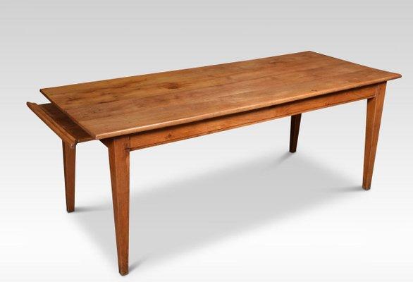 Cherry Wood Farmhouse Kitchen Table