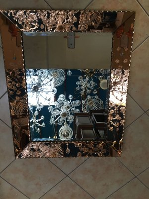Large Venetian Mirror 1950s For Sale At Pamono