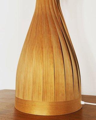Stehlampe aus Holz von Hans Agne Jakobsson für Hans Agne Jakobsson AB Markaryd, 1960er