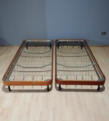 Italian Twin Beds 1960s Set Of 2 For Sale At Pamono