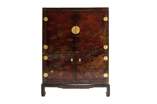 Cabinet Bar In Chinese Style Lacquer