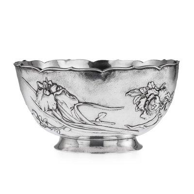 Silver Flower Bowl Wedding Ideas