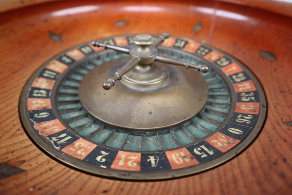 Antique French Casino Roulette Wheel For Sale At Pamono