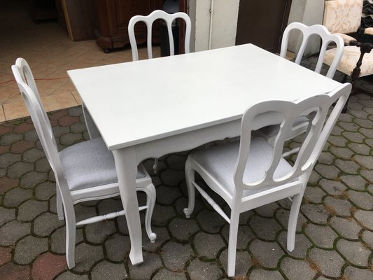 Dining Table Chairs Set 1960s Set Of 5 For Sale At Pamono