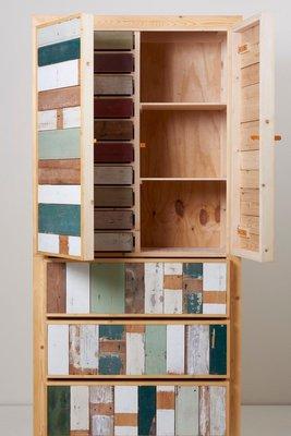 Credenza in legno massiccio di Piet Hein Eek, 2010s