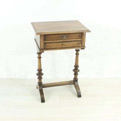 antique sewing table 1900s 2