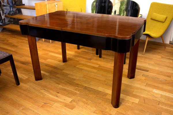Art Deco Dining Table Chairs Set