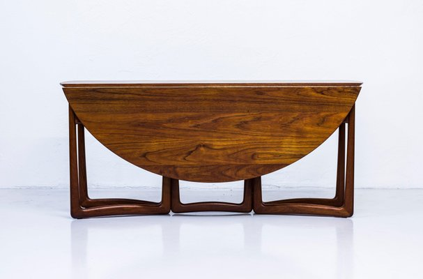 Drop Leaf Dining Table By Peter Hvidt Molgaard For France Son 1950s For Sale At Pamono