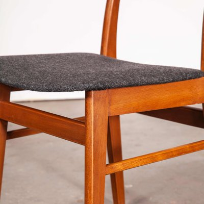 Mid Century Danish Teak Upholstered Dining Chair 1960s For Sale At Pamono