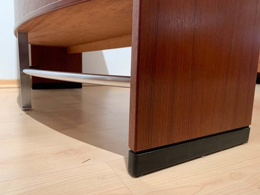 Mid Century Modern Teak Wood Bar