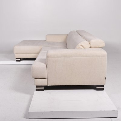 Cream Corner Sofa From Ewald Schillig
