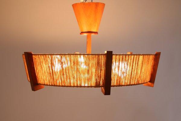 Mid Century Model E27 Ceiling Lamp by Temde for Temde
