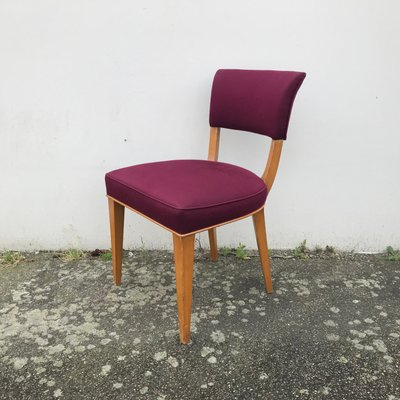 Art Deco Style Dining Chairs 1950s Set Of 2 For Sale At Pamono
